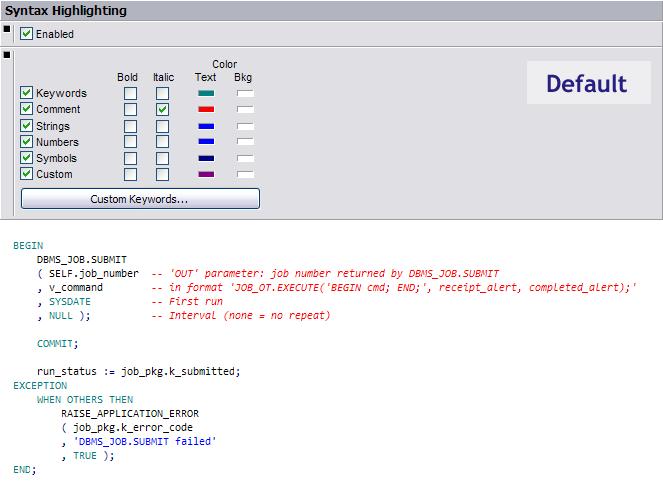 Setting up PL/SQL Developer, part 1